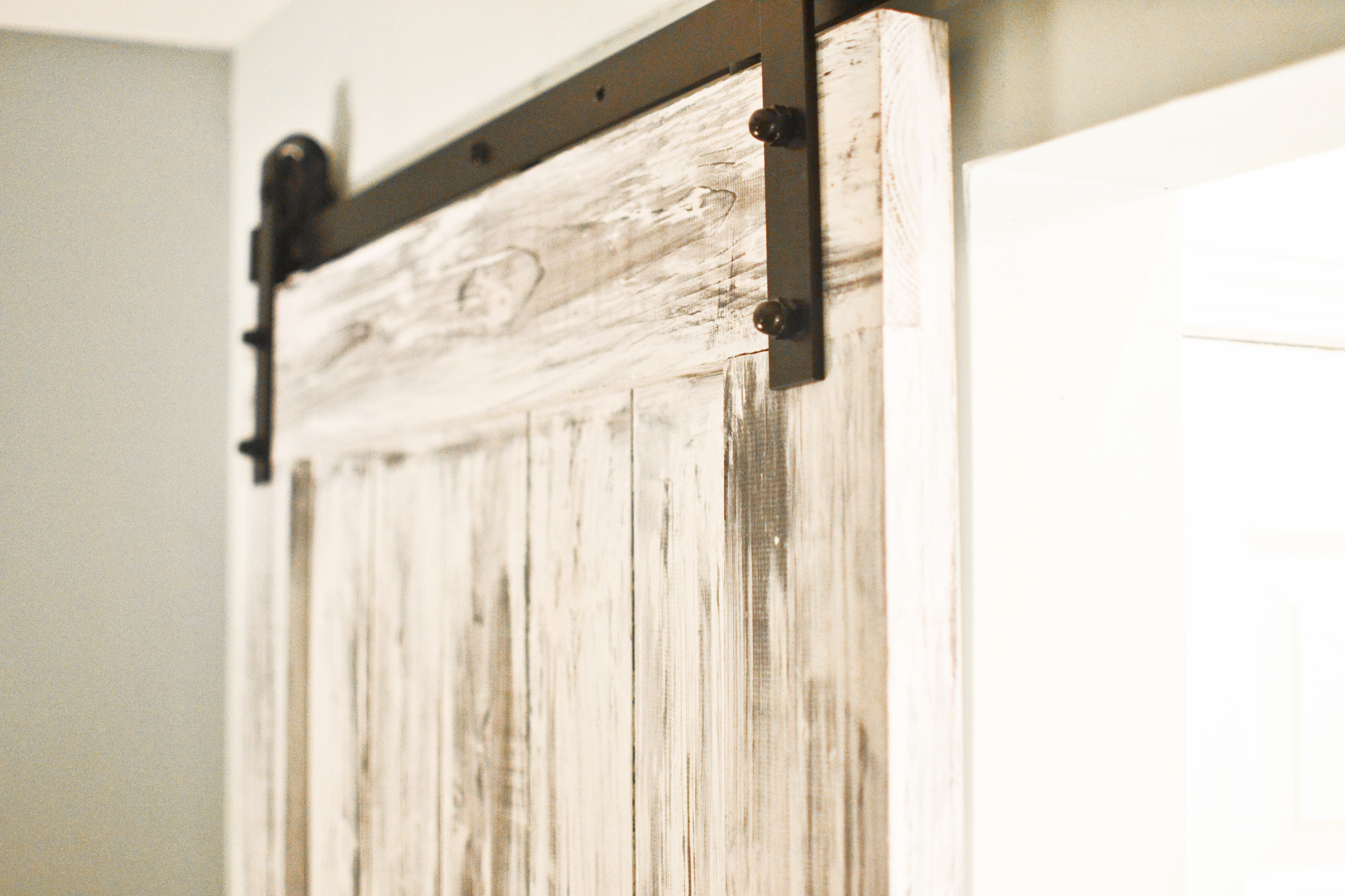Build Install A Sliding Barn Door