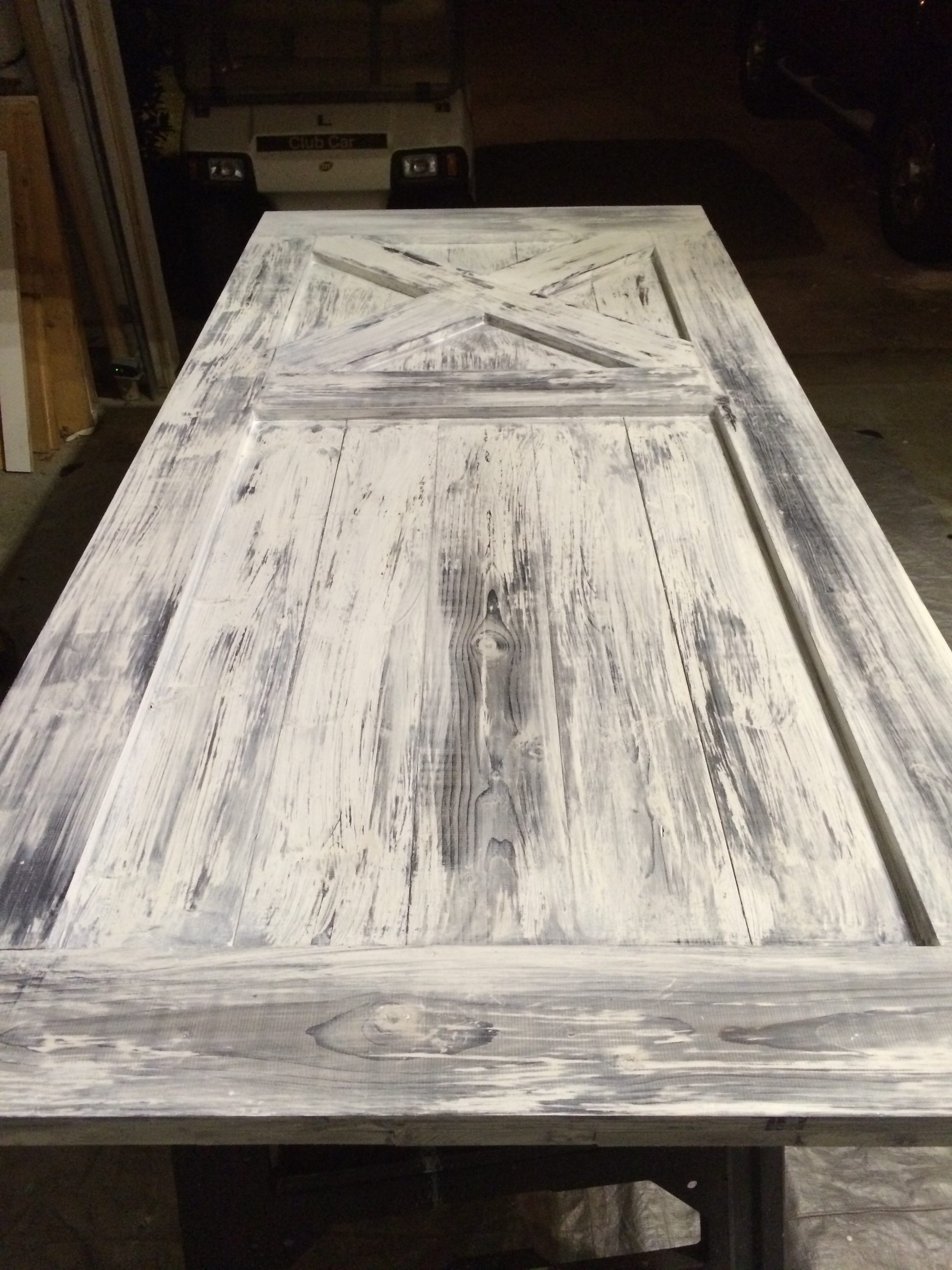 How To Build Install A Sliding Barn Door Building Our Rez