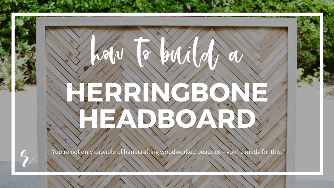 How To Build A Diy Herringbone Headboard With Wood Shims