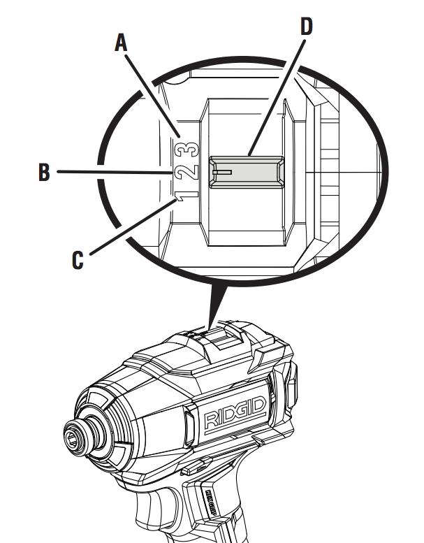 RIDGID impact driver torque selector how to use a cordless drill driver, impact driver & corded drill