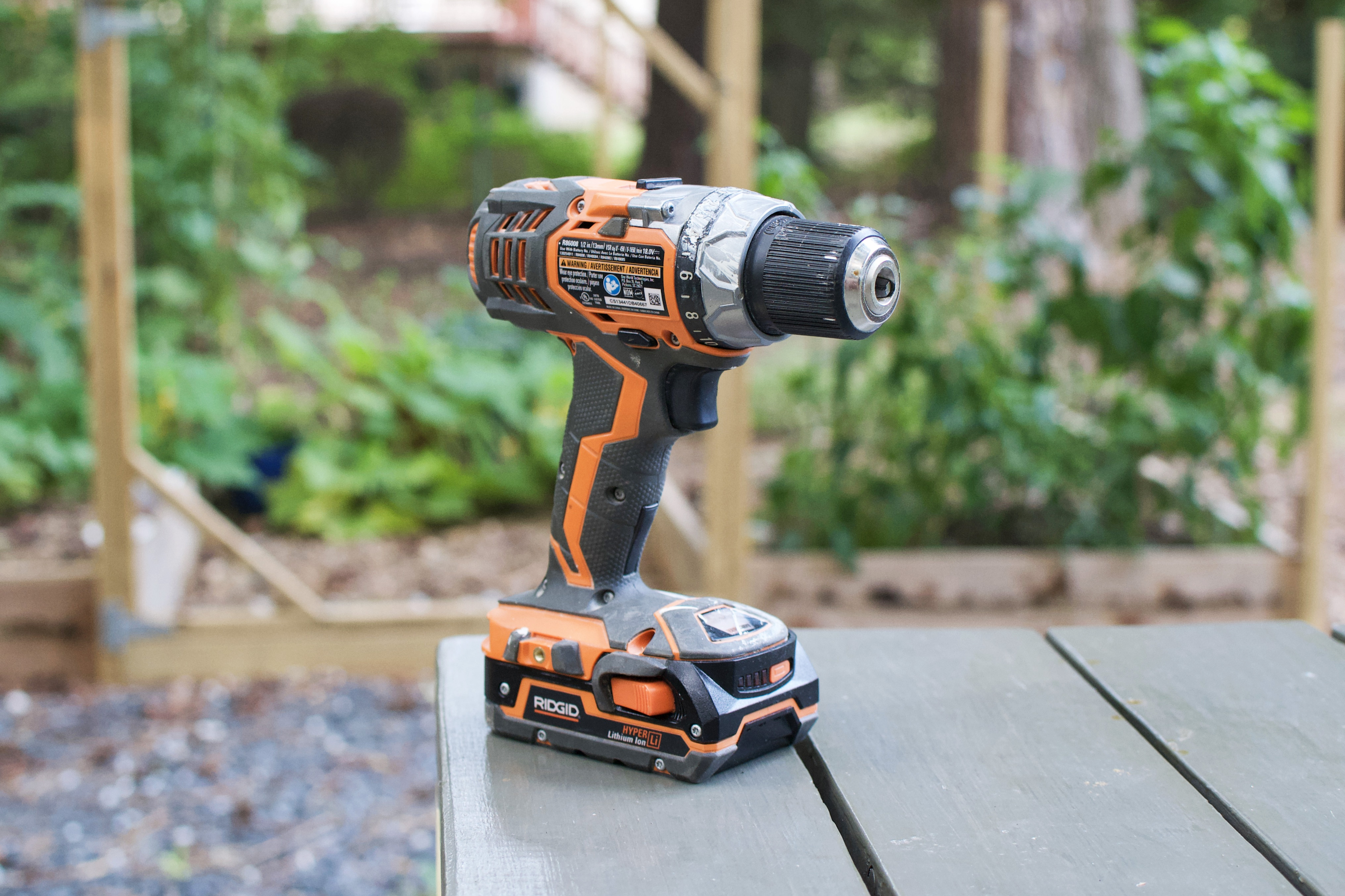 ridgid limited edition hammer drill