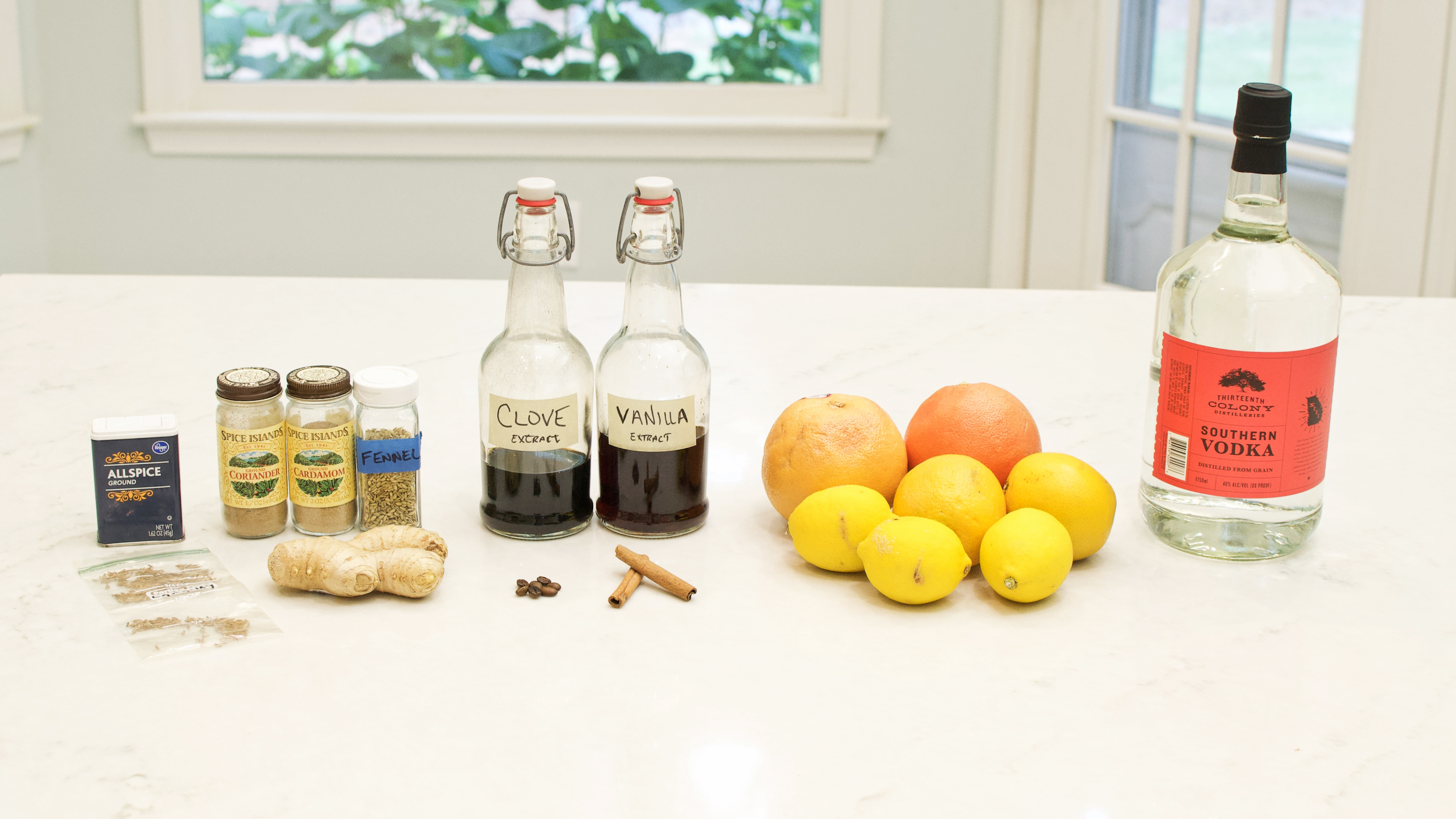 Homemade Angostura Style Citrus Bitters for Cocktails Recipe