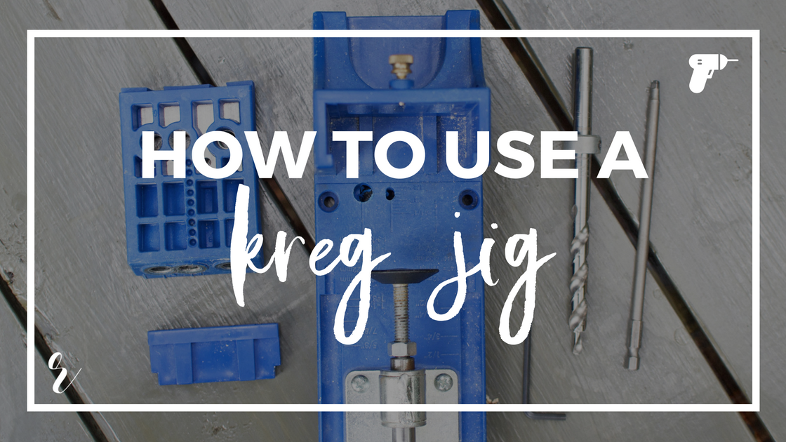 How to use a Kreg Jig for Pocket Hole Drilling, Screwing