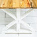 How to Finish Your Reclaimed Table with Stain, Paint, Distressing, Boiled Linseed Oil, Urethane and Mineral Spirits