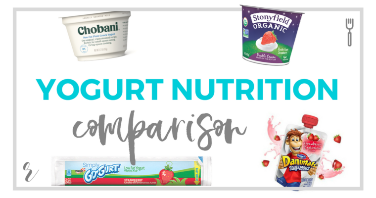 Chobani Greek vs. Stonyfield Organic Yogurt vs. Go-Gurt vs. Danimals Nutrition Comparison