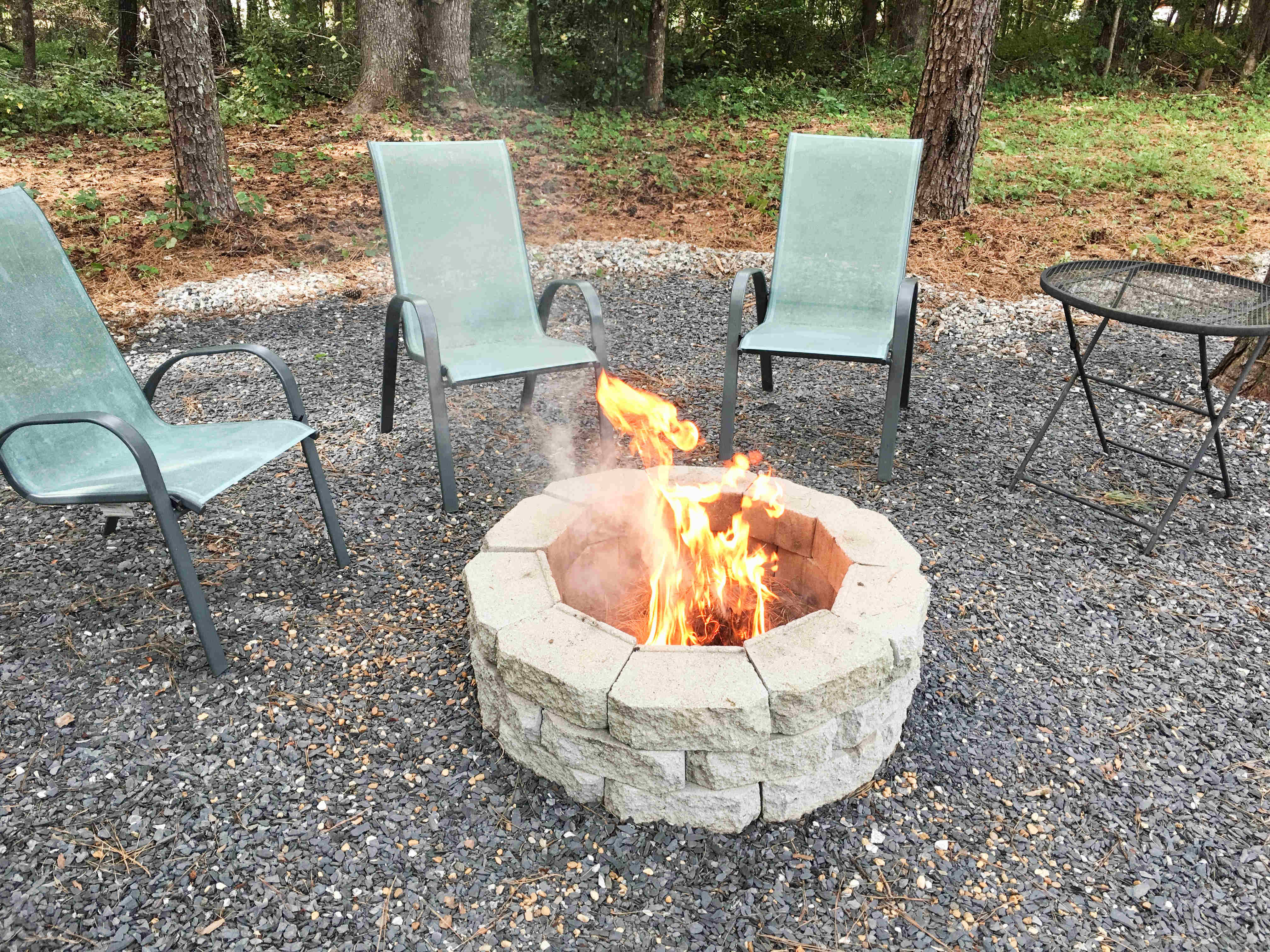 How to Make a DIY Fire Pit in Your Backyard - Building Our Rez