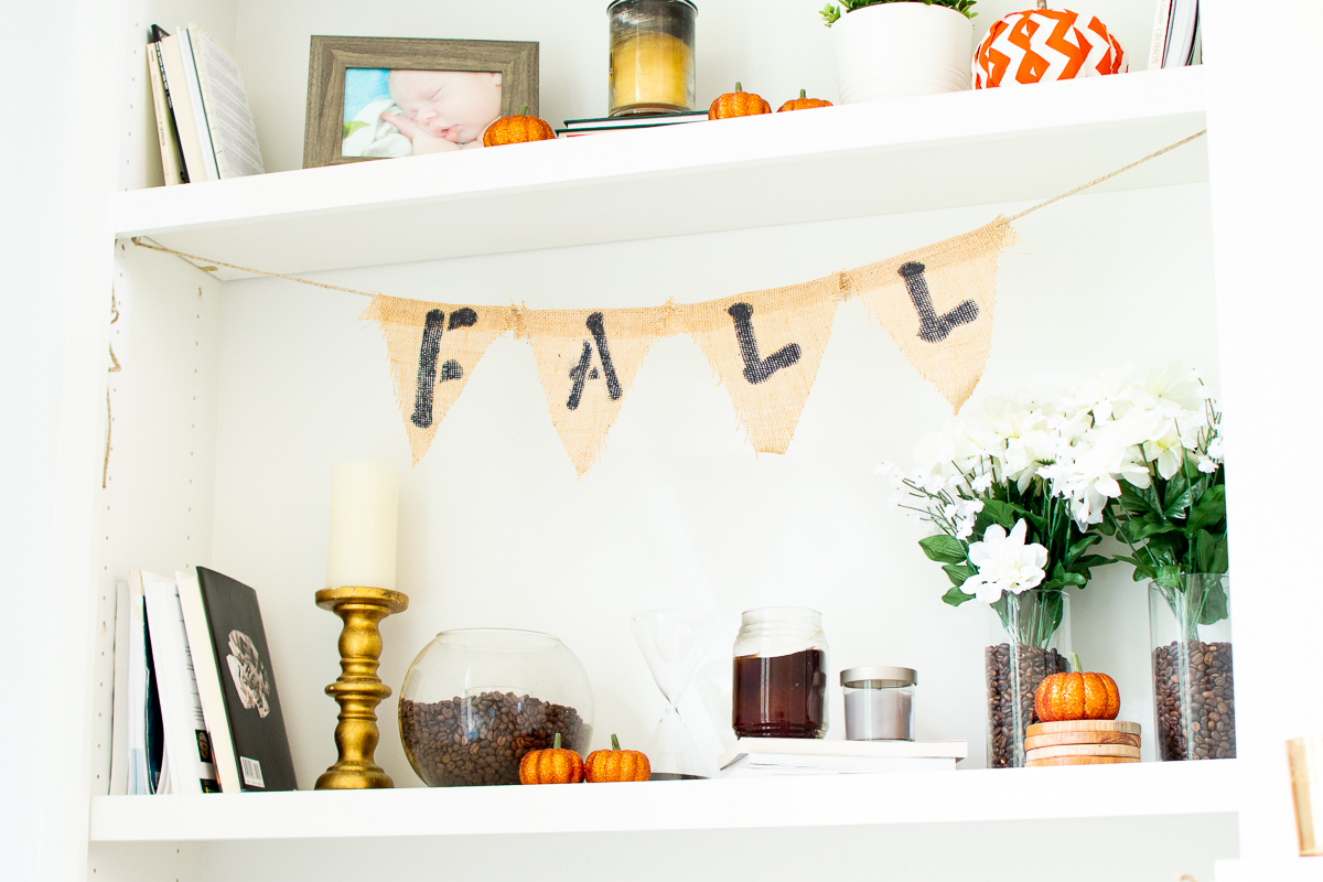 How To Make Diy Fabric Burlap Banners For Your Fall Decor