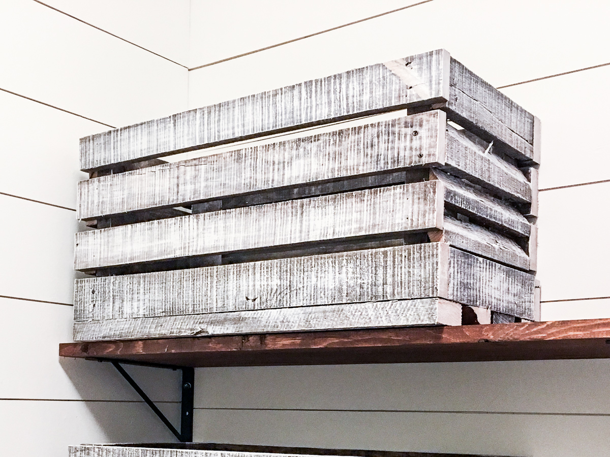 How To Dry Brush Reclaimed Pallet Wood With Paint Building