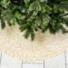 No-Sew Ruffled Christmas Tree Skirt (DIY Tutorial)