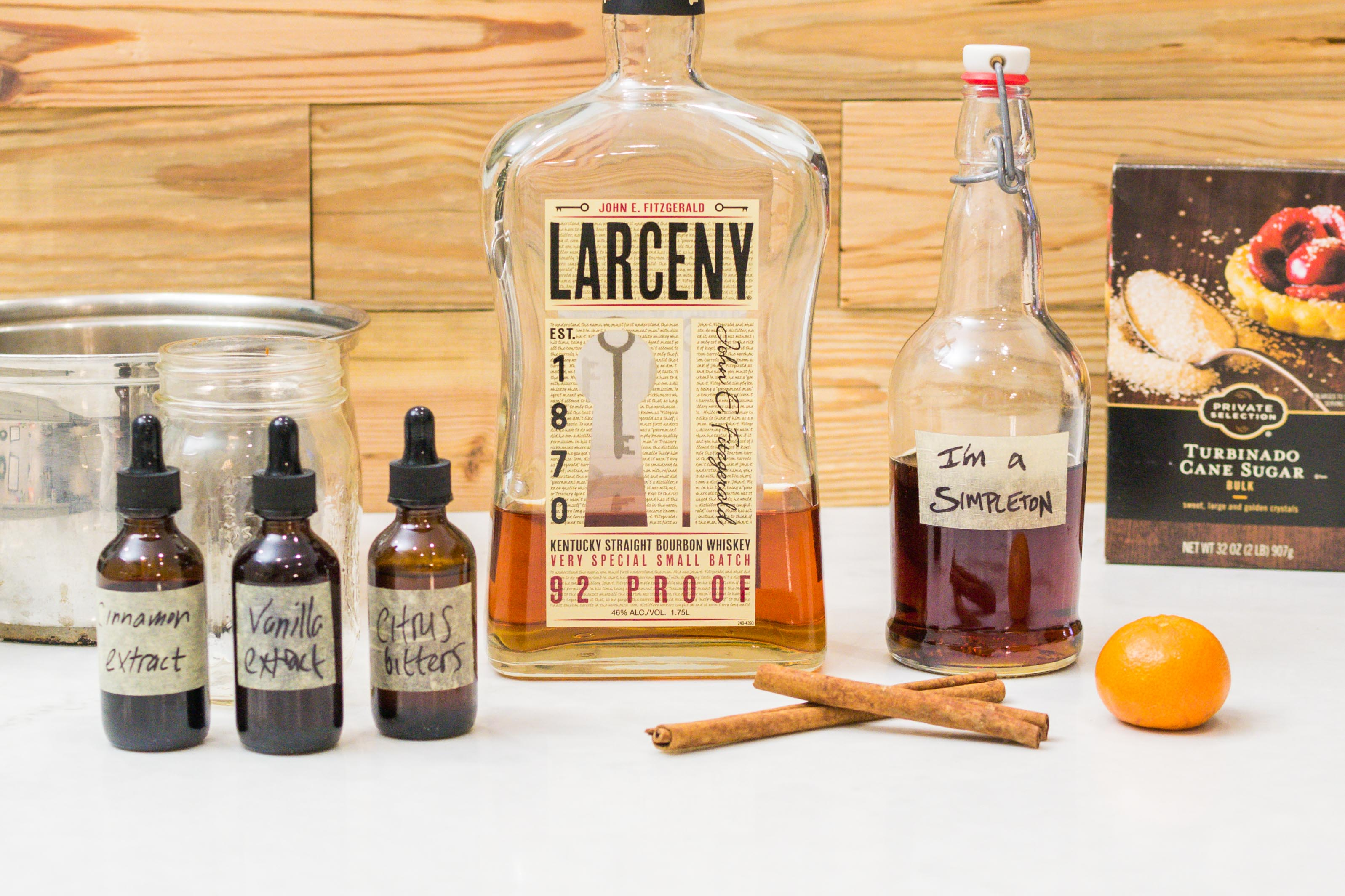 Smoky, Winter-Spiced Old-Fashioned Cocktail Recipe with Homemade Bitters