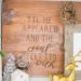DIY Stained Wood Sign / Decor Board