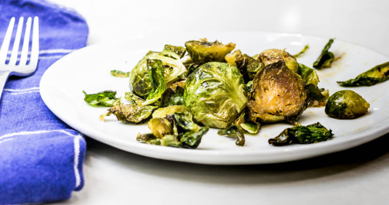Fig and Ginger Glazed Brussels Sprouts Recipe