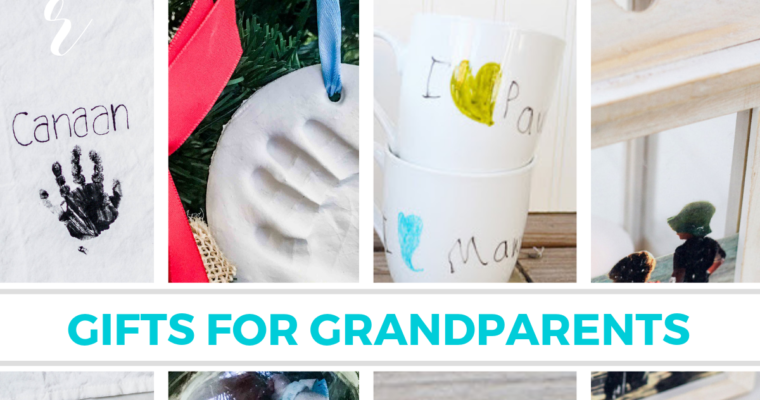 The Best Personalized Gifts for Grandparents: Homemade or Store Bought