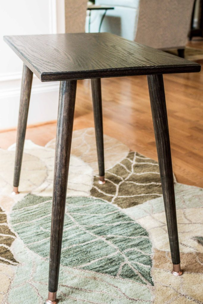 Image of: How To Diy Build A Mid Century Modern Side Table Plans Building Our Rez