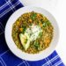 Instant Pot Lentil Soup with Spicy Coconut Cream (Vegan, Meatless Monday)